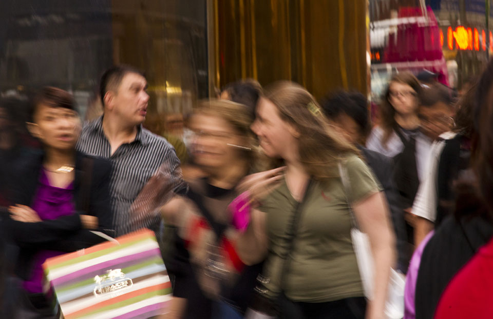 shopping on fifth ave